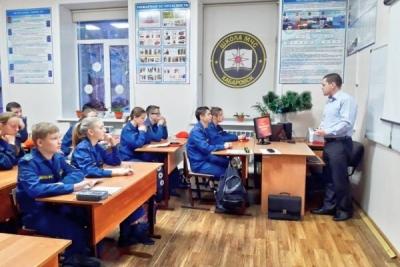 Встреча с учащимися средней школы №3