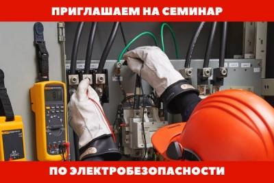 Семинар «Электробезопасность. Аттестация в Энергонадзоре» пройдёт в Хабаровске